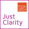 Just Clarity Podcast Logo